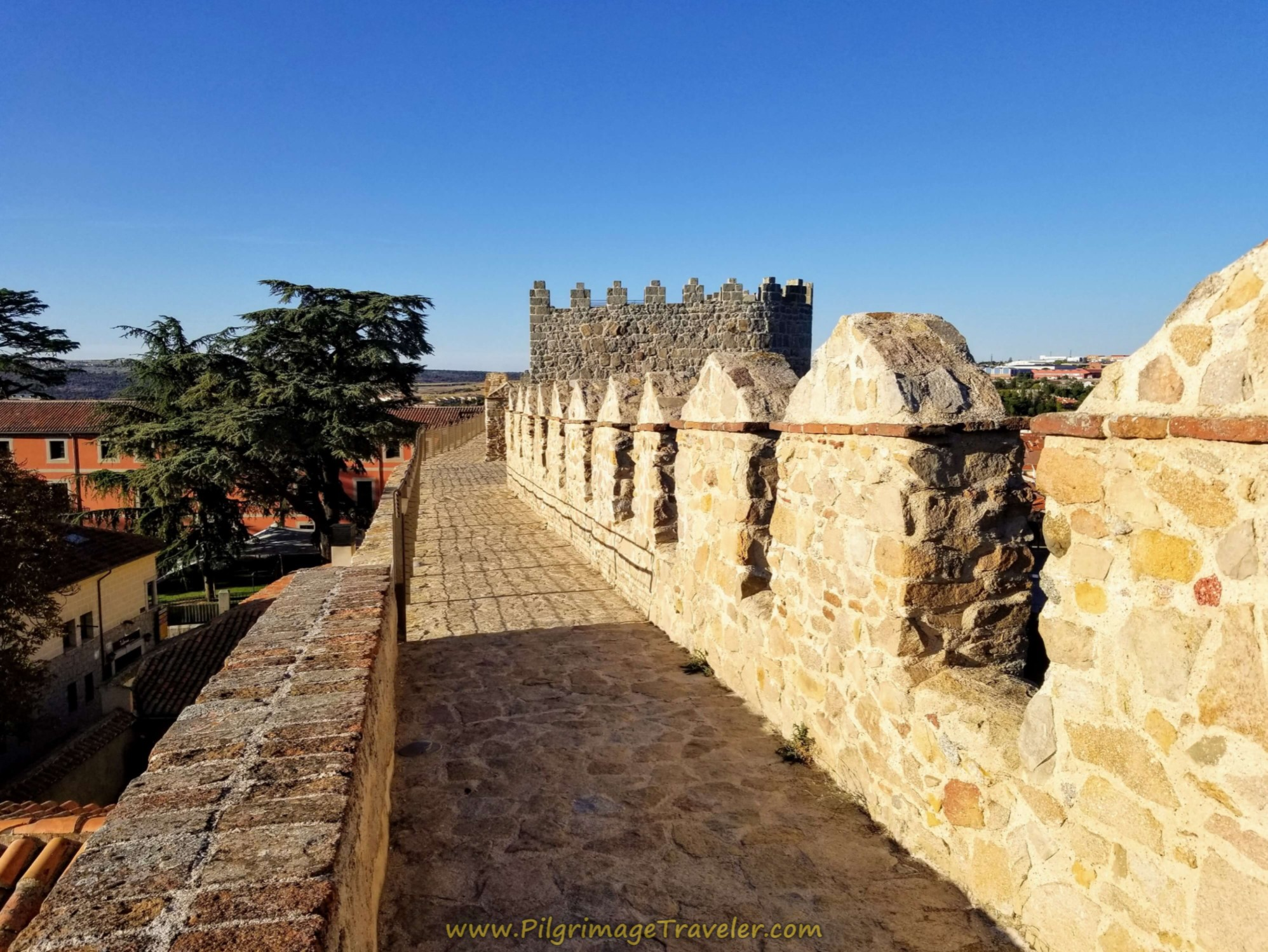 Ávila East Wall Walk