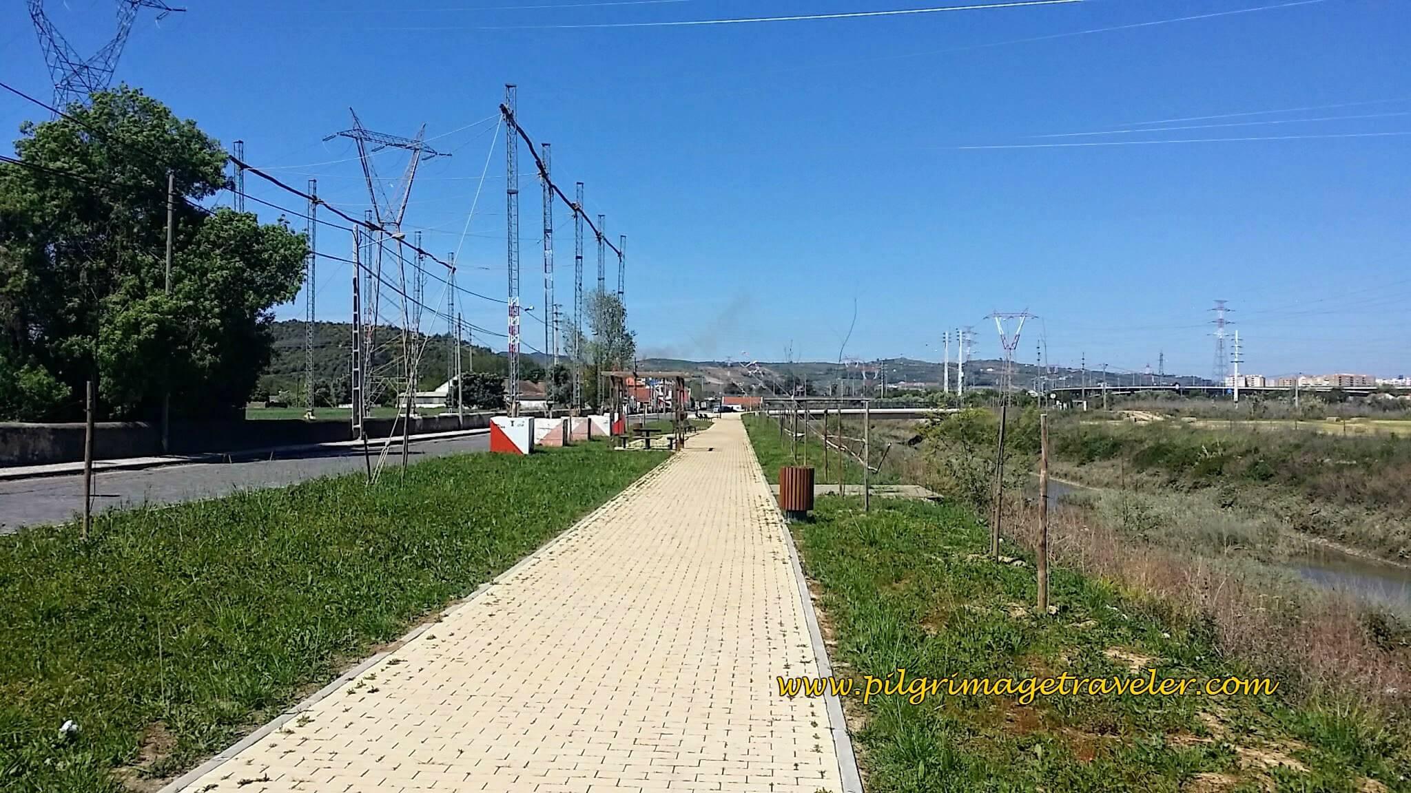 The Way Parallels the Estrada da Vala, Carregado, Portugal