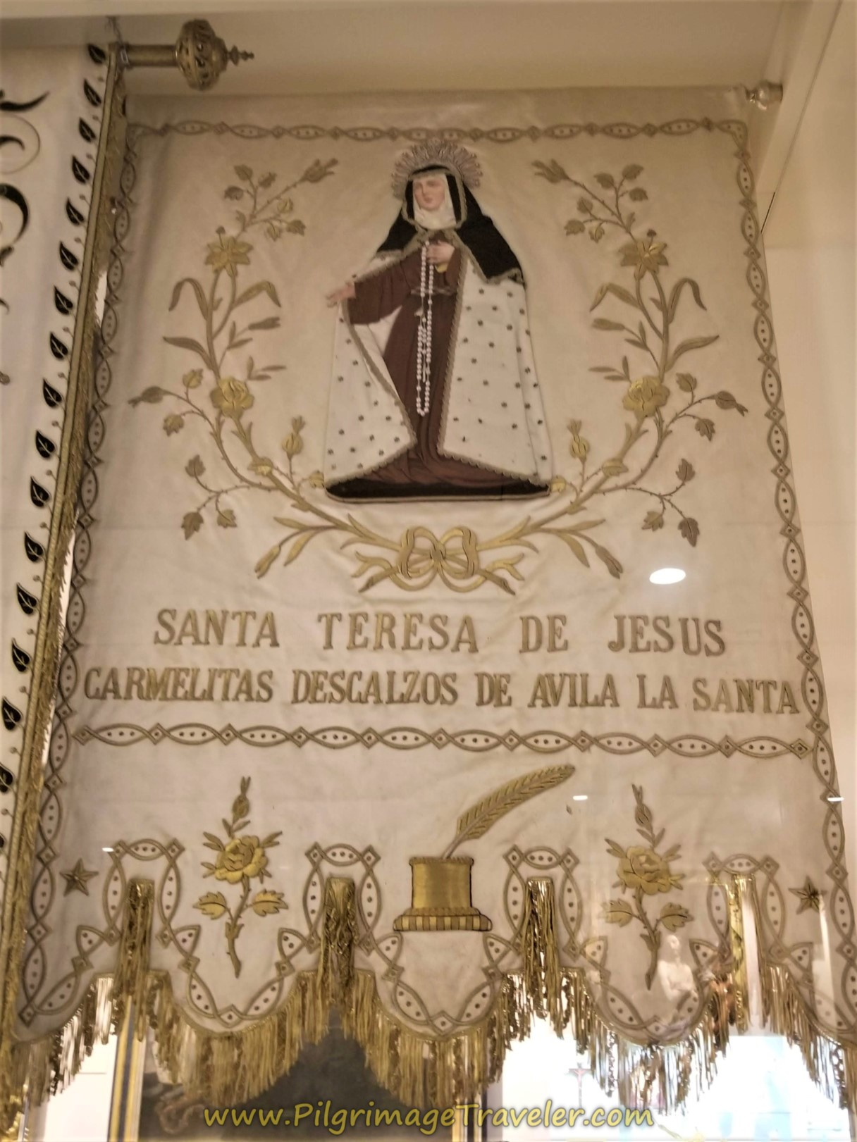 St. Teresa Tapestry, Museo Carmelitano