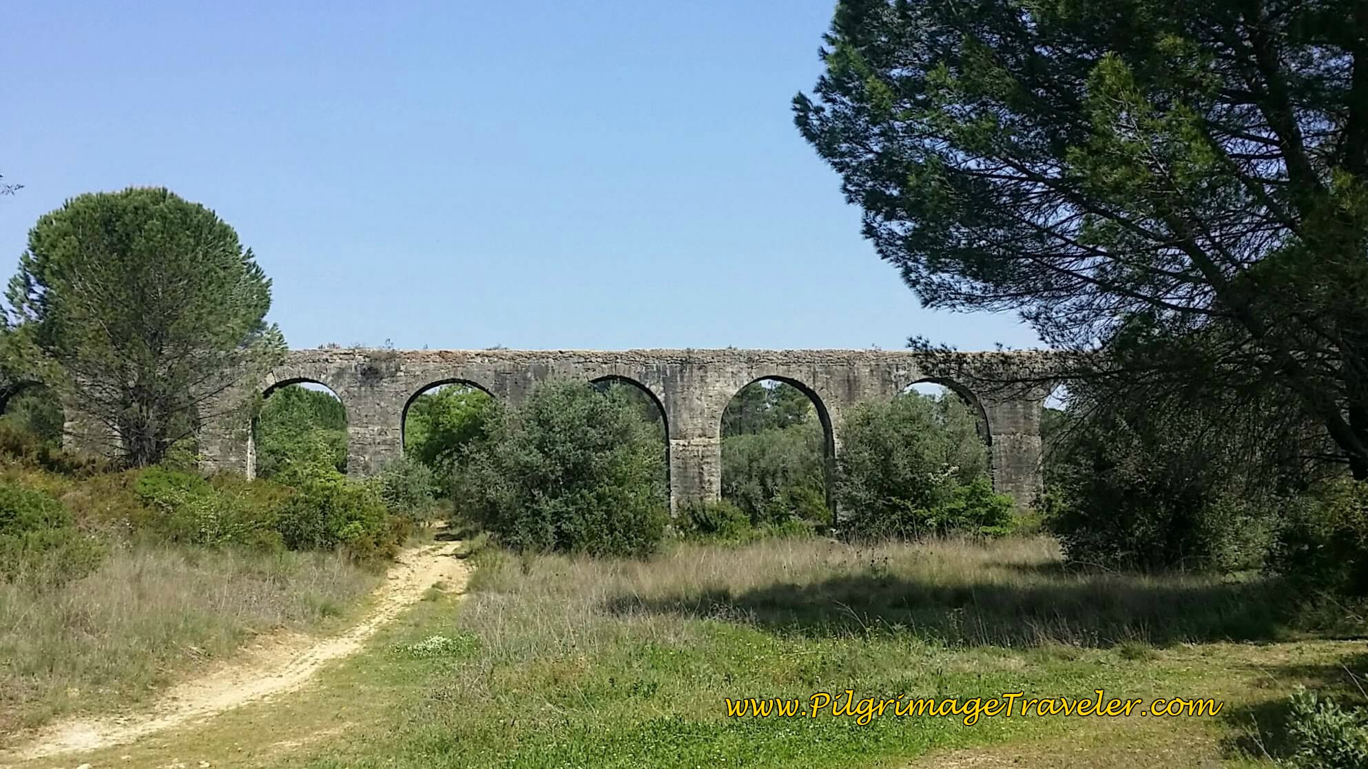 First Sight of the Aqueduct on the Nascente
