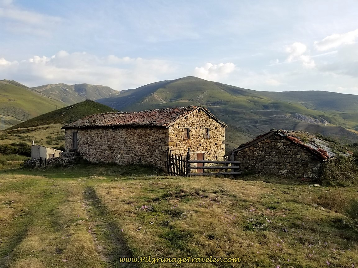 Old Stone Buildings at Arroyo de Las Caballetas