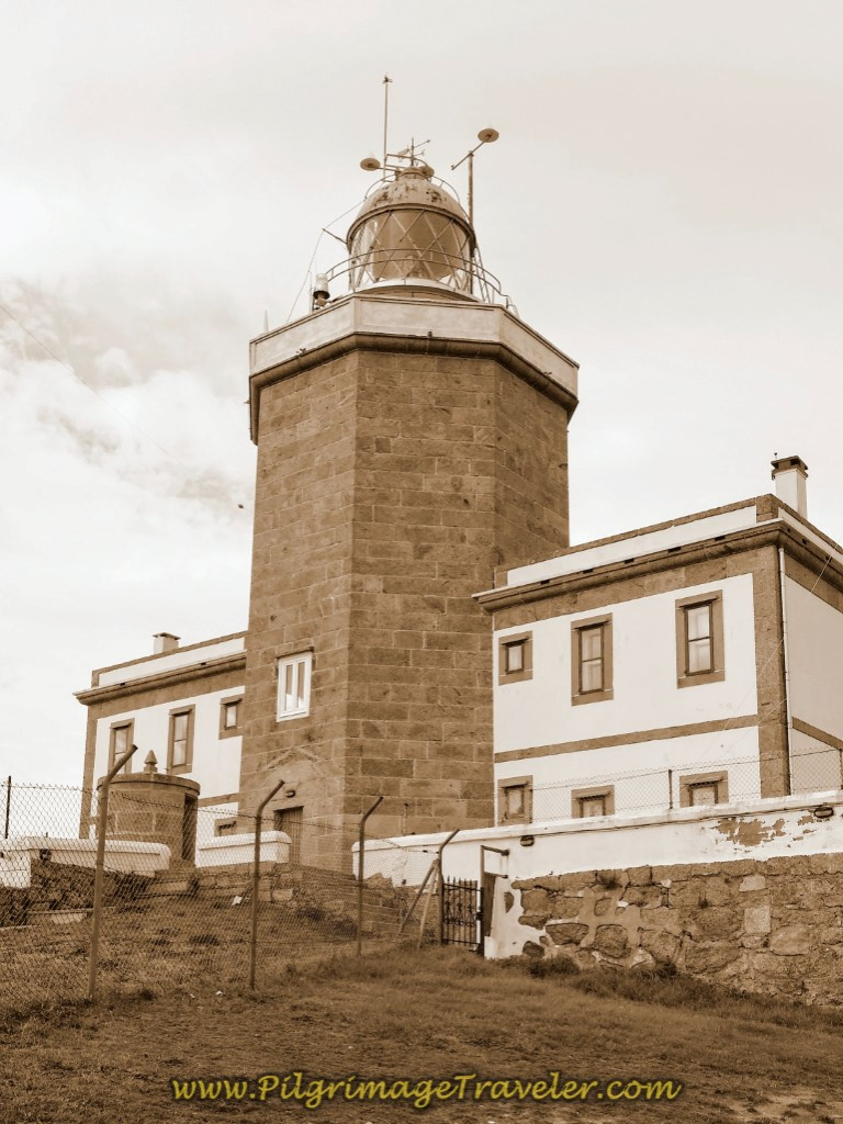 Faro at Cabo Finisterre at the end of the Camino Fisterra
