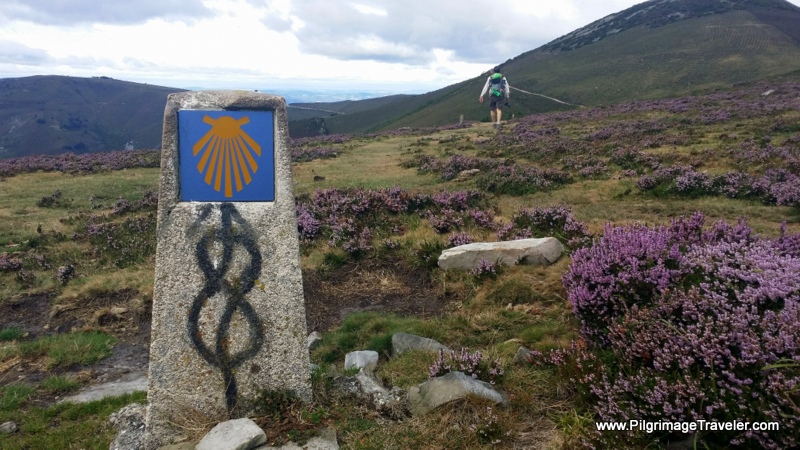 Never Stop Walking, Hospitales Route Waymark on the Camino Primitivo