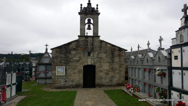 Church in Pacio along the Camino Primitivo