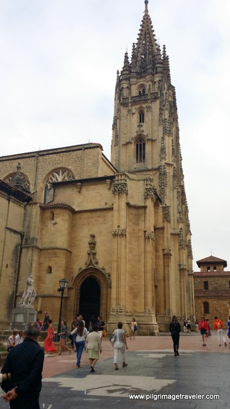 The Cathedral of San Salvador, Oviedo, Spain