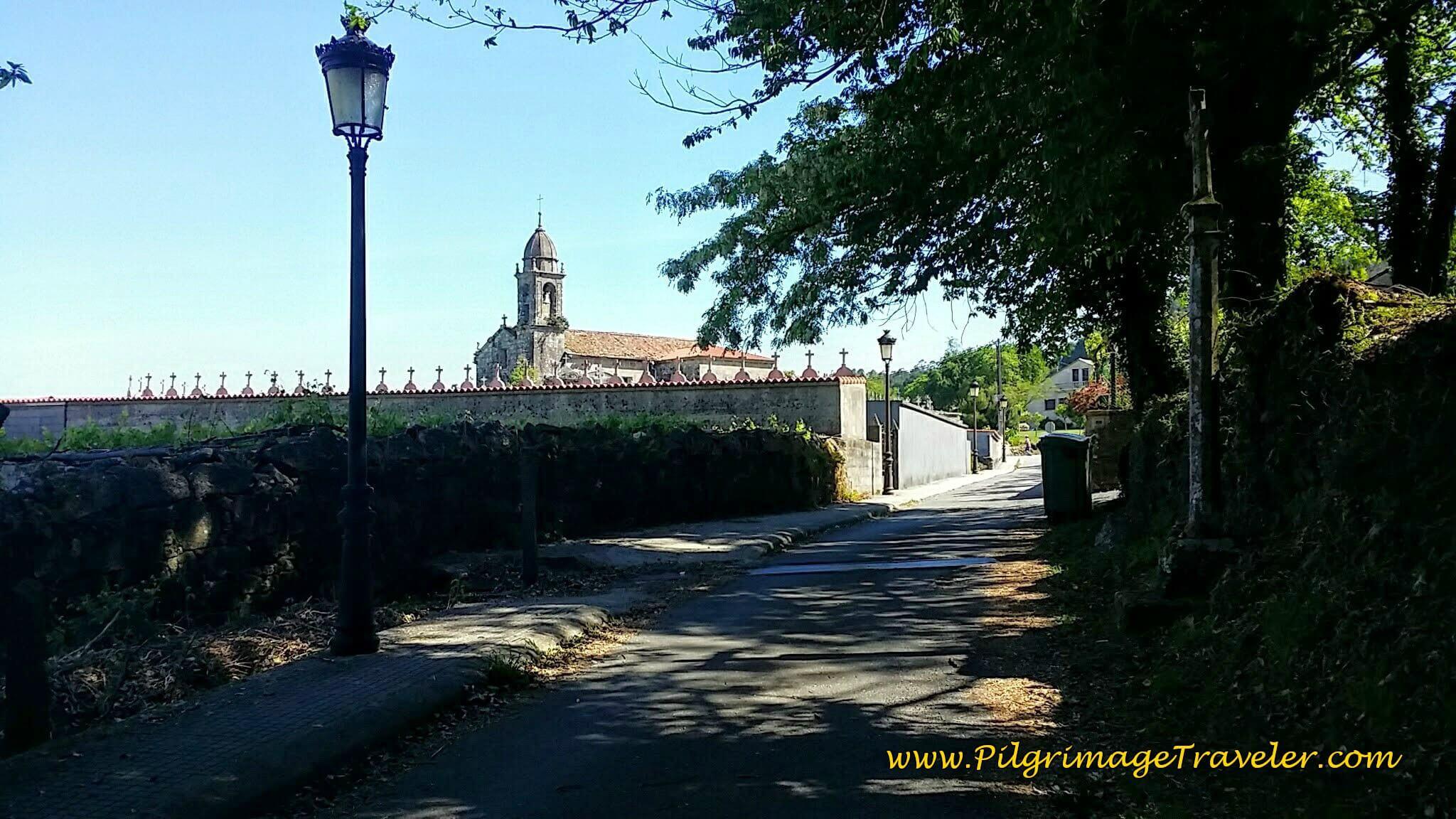 Igrexa de Santa María de Cruces on Day Twenty-Four, Portuguese Camino