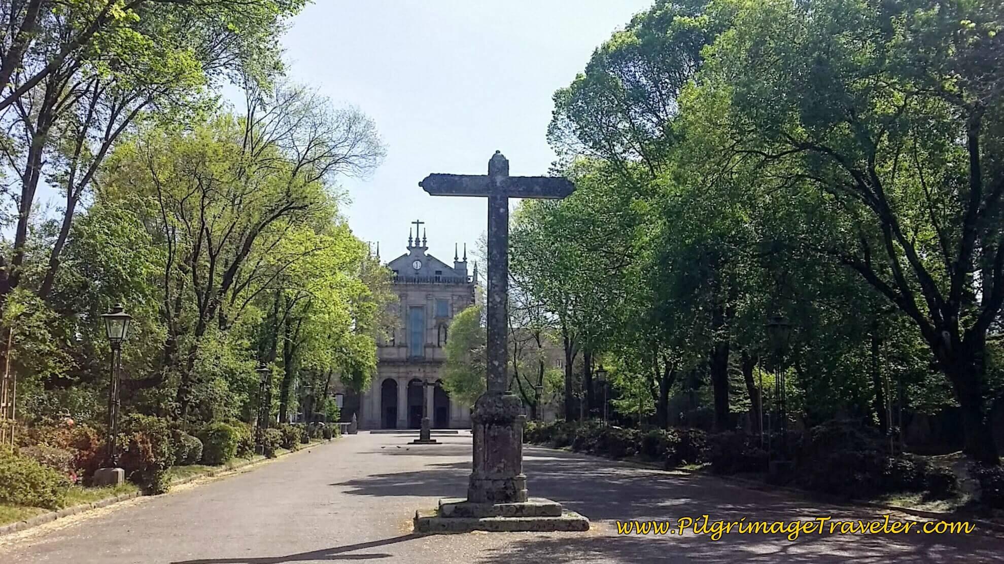 Mosteiro de São Salvador in Grijó on day fourteen of the Portuguese Way
