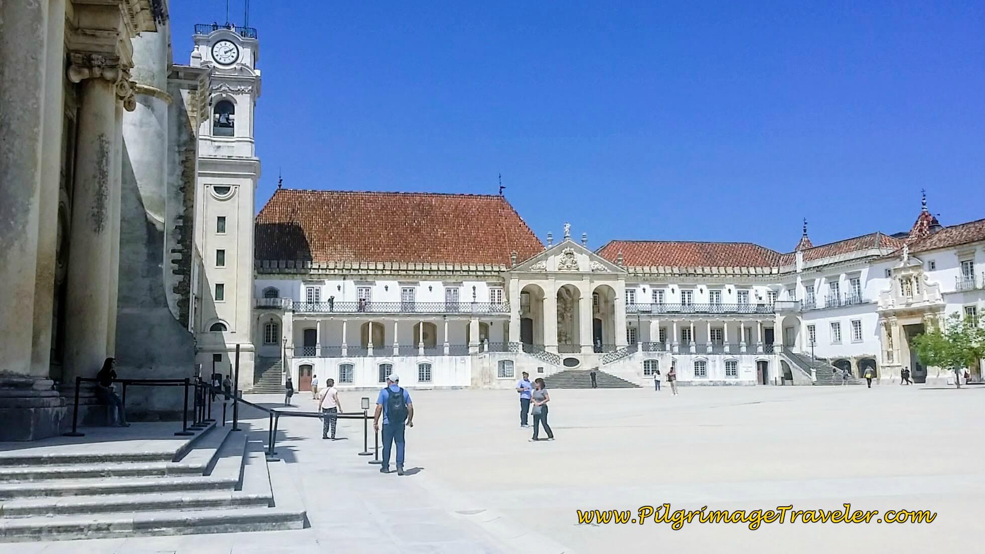 Paço das Escolas, Coimbra Portugal