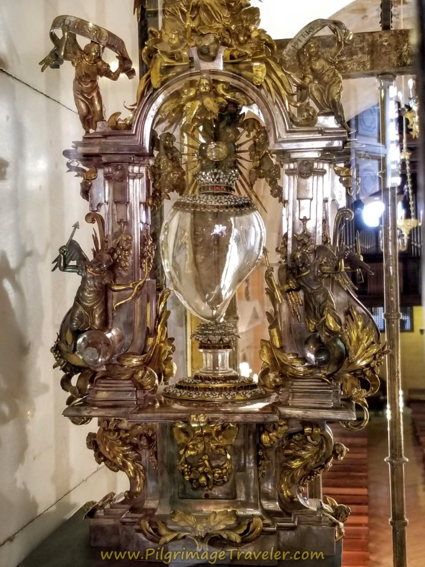 St. Teresa Heart Relic, Museo Carmelitano, Alba de Tormes