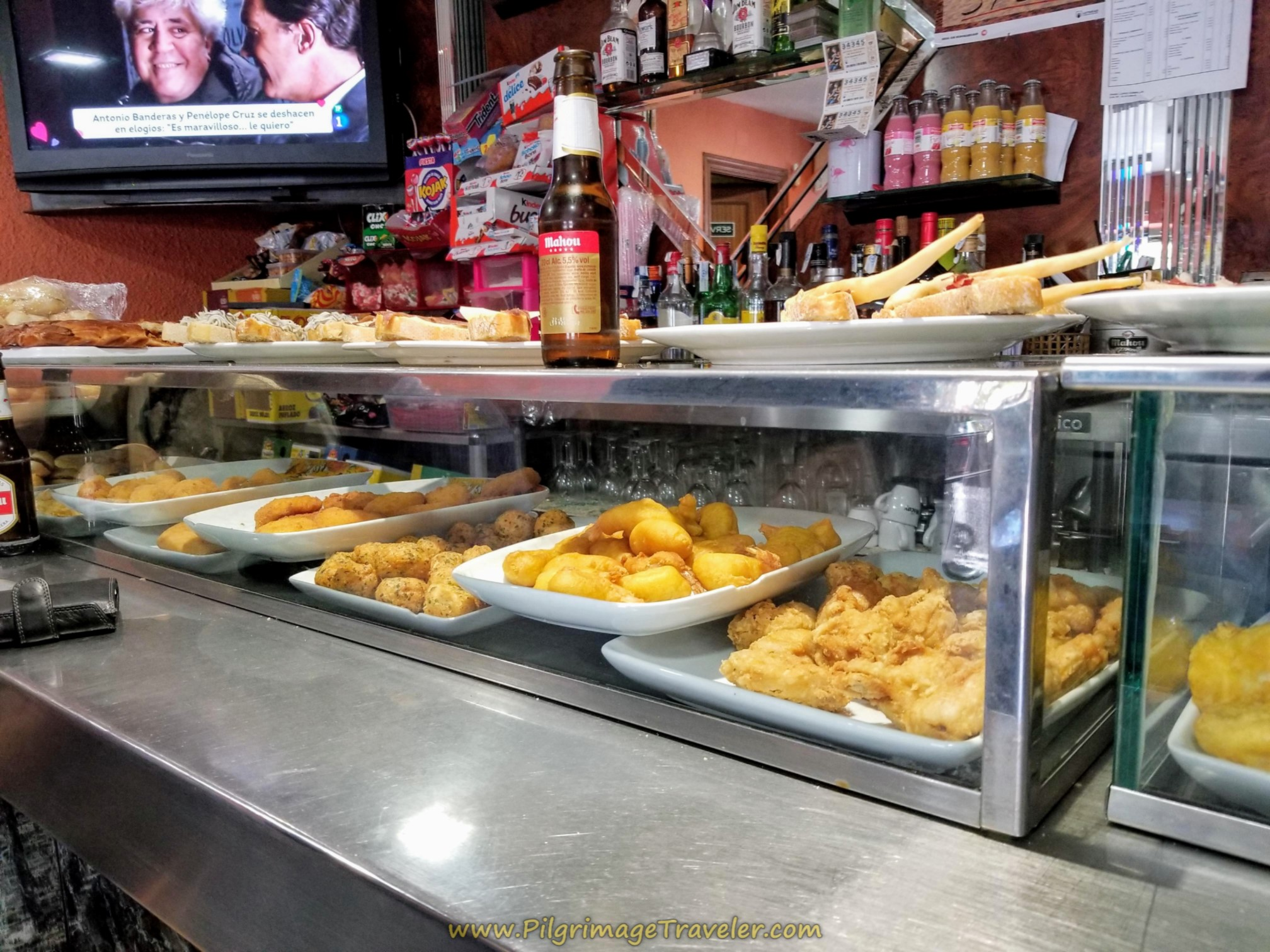 Pinchos at the Bar Cielito Lindo
