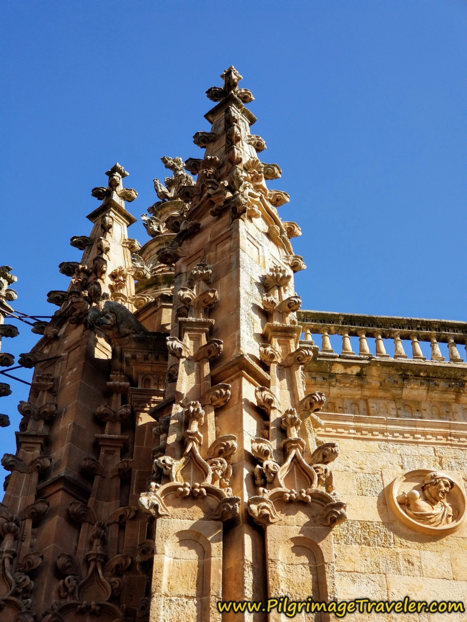 Individual Cathedral Tower Carvings