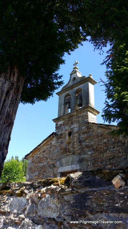 Igrexia de A Fontaneira, on the Camino Primitivo