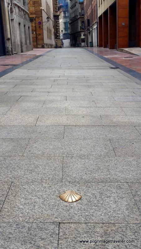 First Steps on the Camino Primitivo, Oviedo, Spain