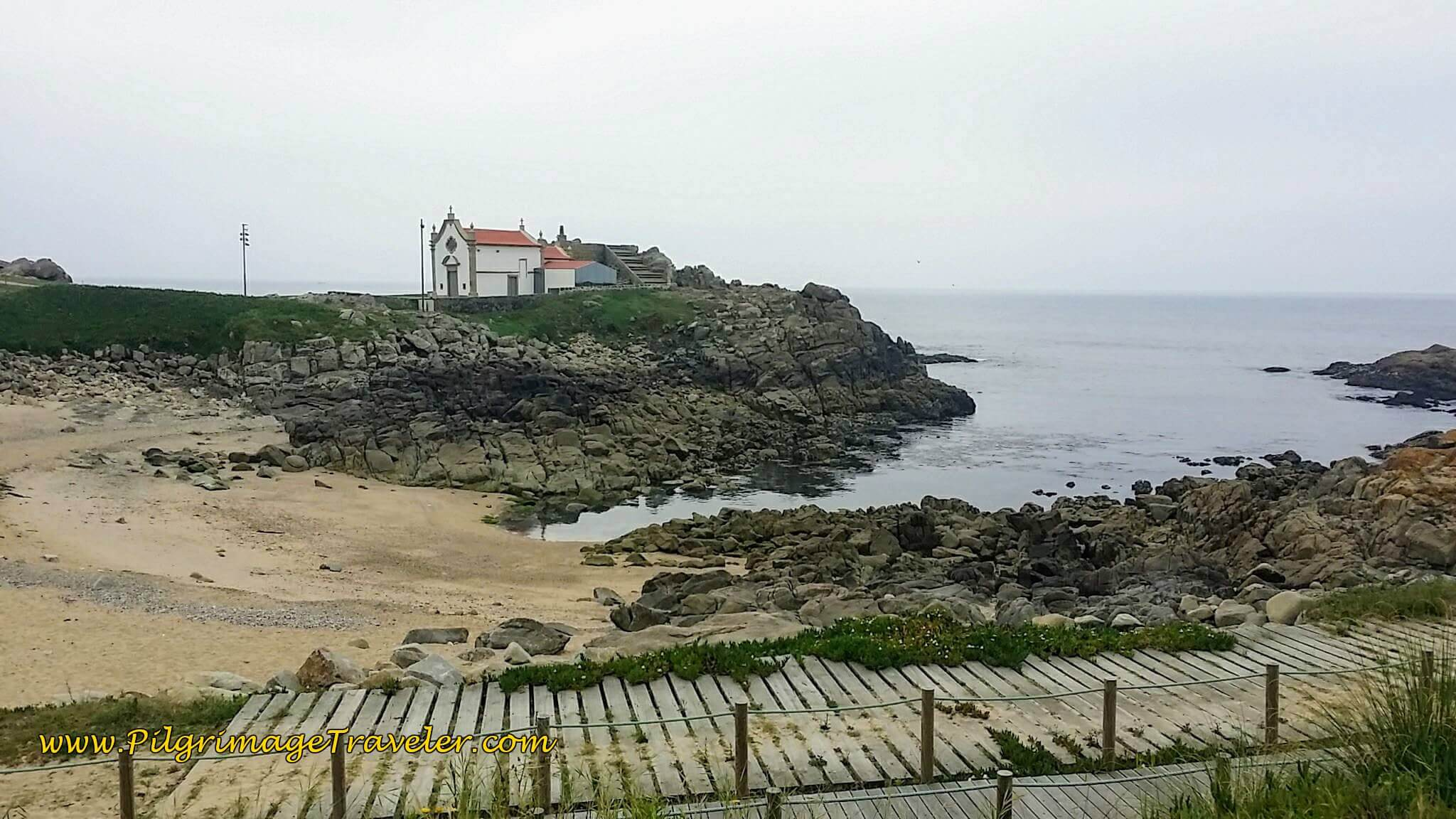 Capela da Boa Nova and Miradouro on day fifteen of the Portuguese Way on the Senda Litoral