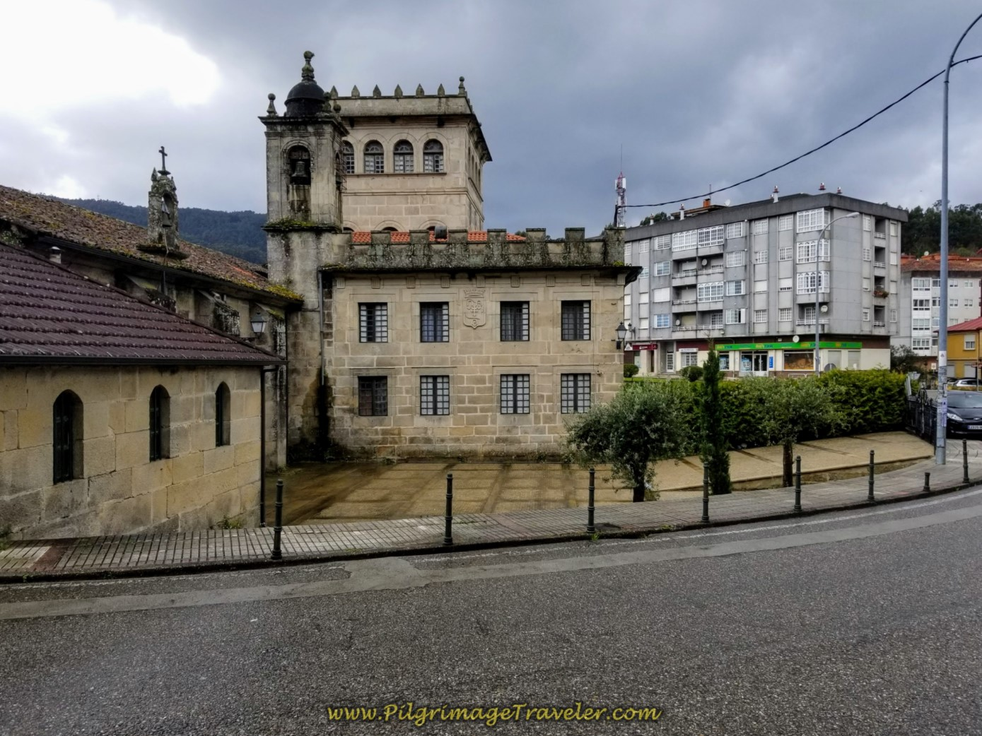Convento de Vilavella on day twenty-one of the central route of the Portuguese Camino