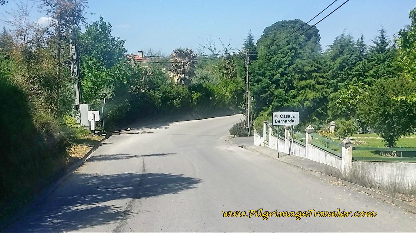 Casal das Bernardas on the Portuguese Way
