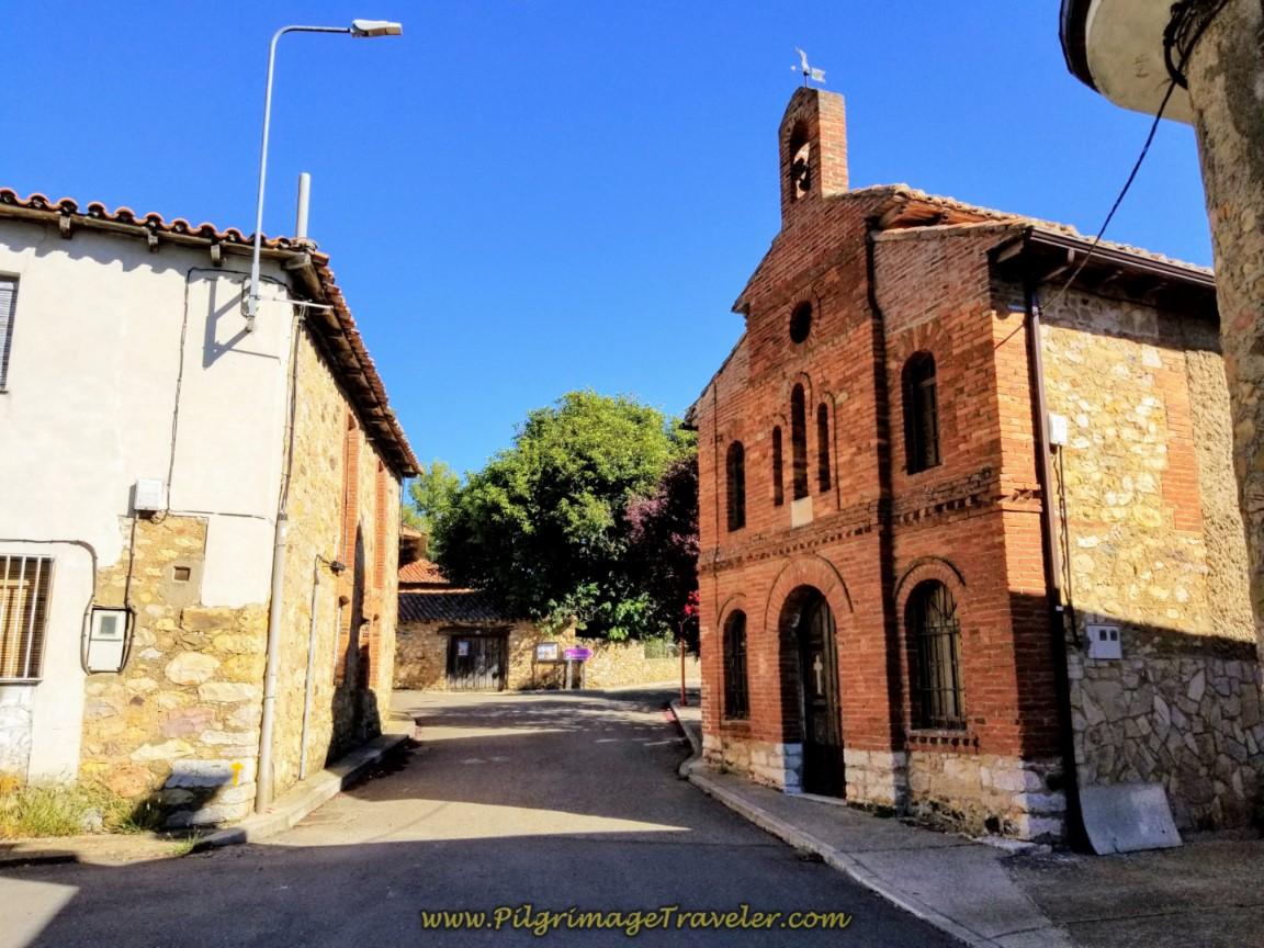 Walking Through Cabanillas with the Capillo del Santo Cristo on Your Right