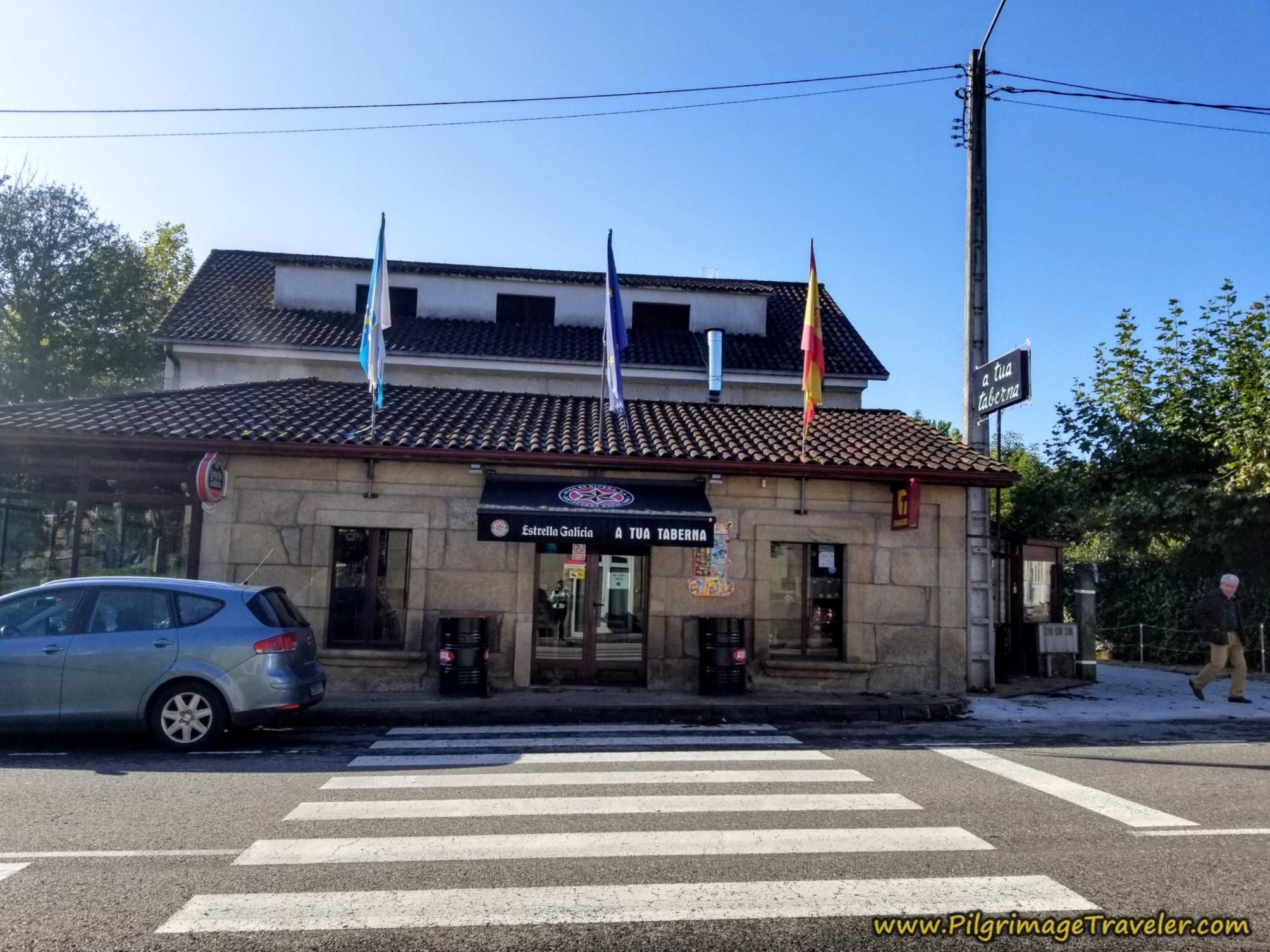 Bar A Tua Taberna, Camino Sanabrés, Ourense to Cea