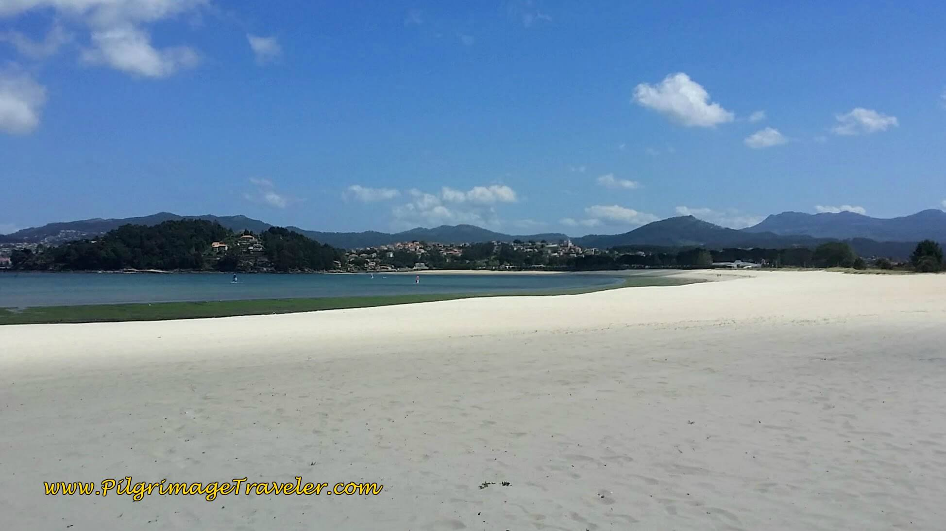 The Glorious Praia Ladeira in Baiona, Spain on day twenty, Camino Portugués da Costa
