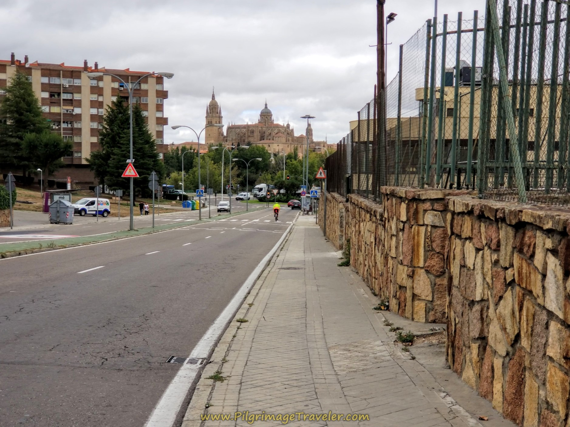 Cathedral in View on the Calle Joaquín Rodrigo