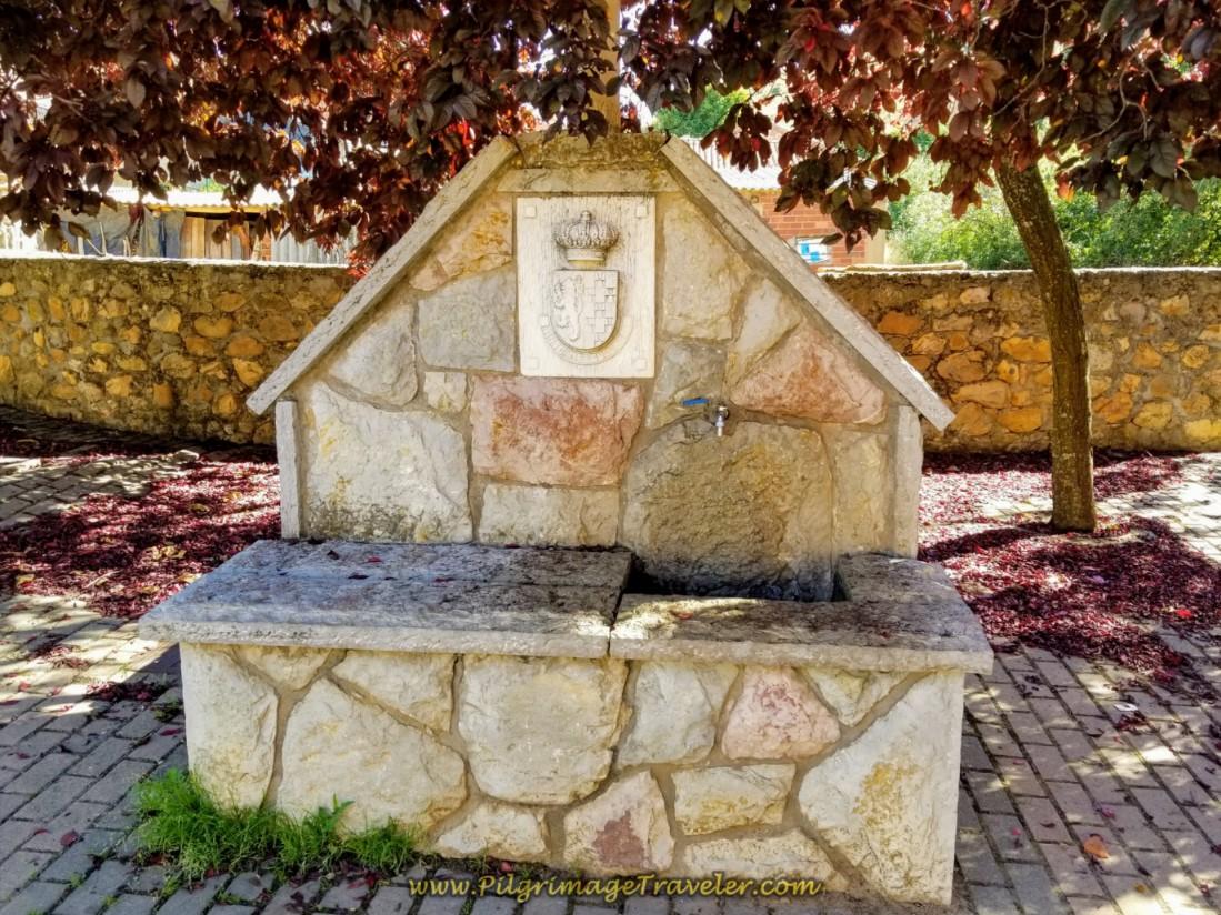 Fountain and Square in Cabanillas