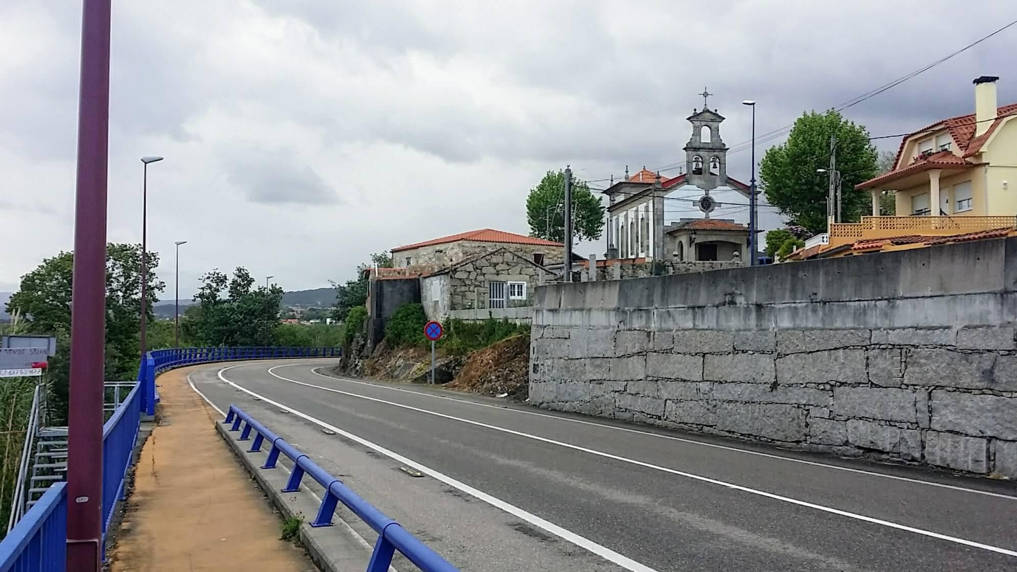 Capilla Nuestra Señora De Los Liñares on day twenty-one of the Camino Portugués