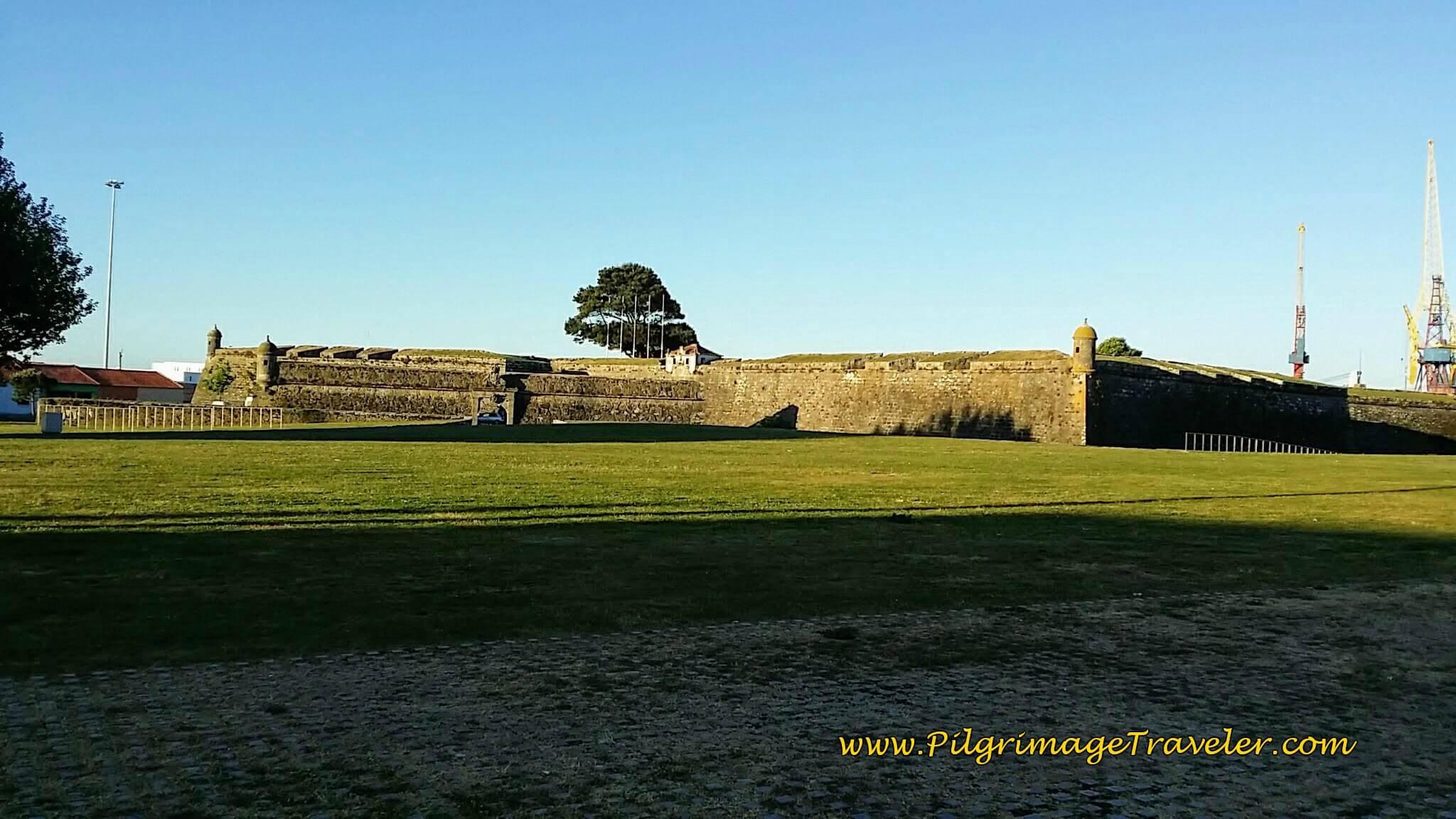 The Castelo Santiago da Barra Guards the Harbor, Viana do Castelo on day eighteen of the Camino Portugués on the Senda Litoral