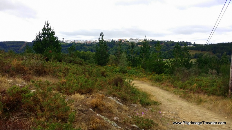 A Fonsagrada In View On High Ridge Ahead