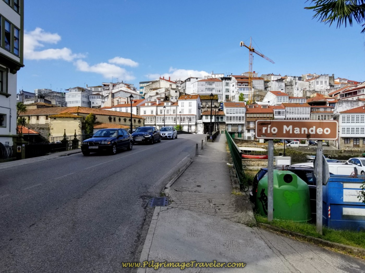 Cross the Río Mandeo into Medieval Betanzos on day four of the English Way