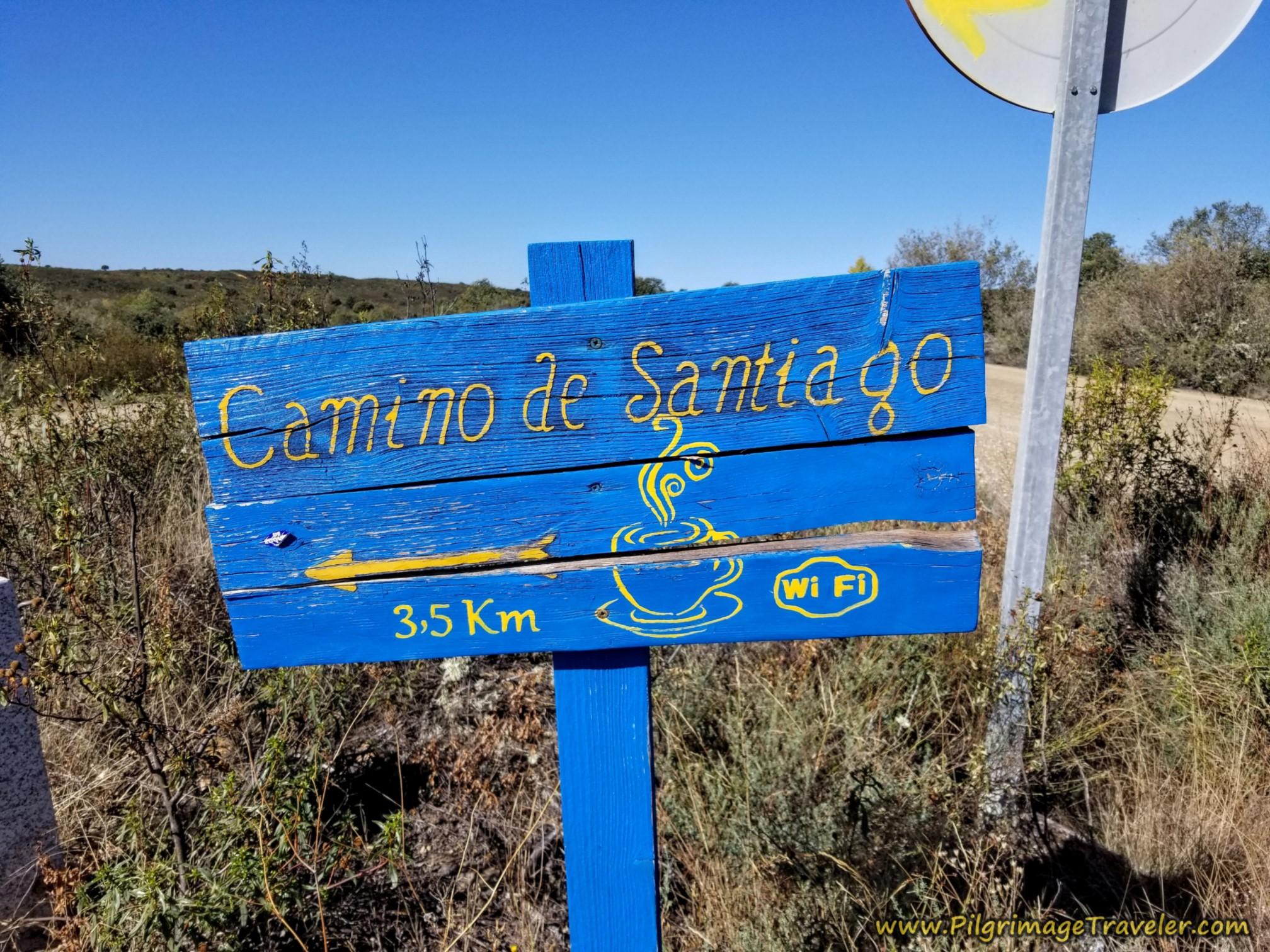Café 3.5 Kilometers Ahead