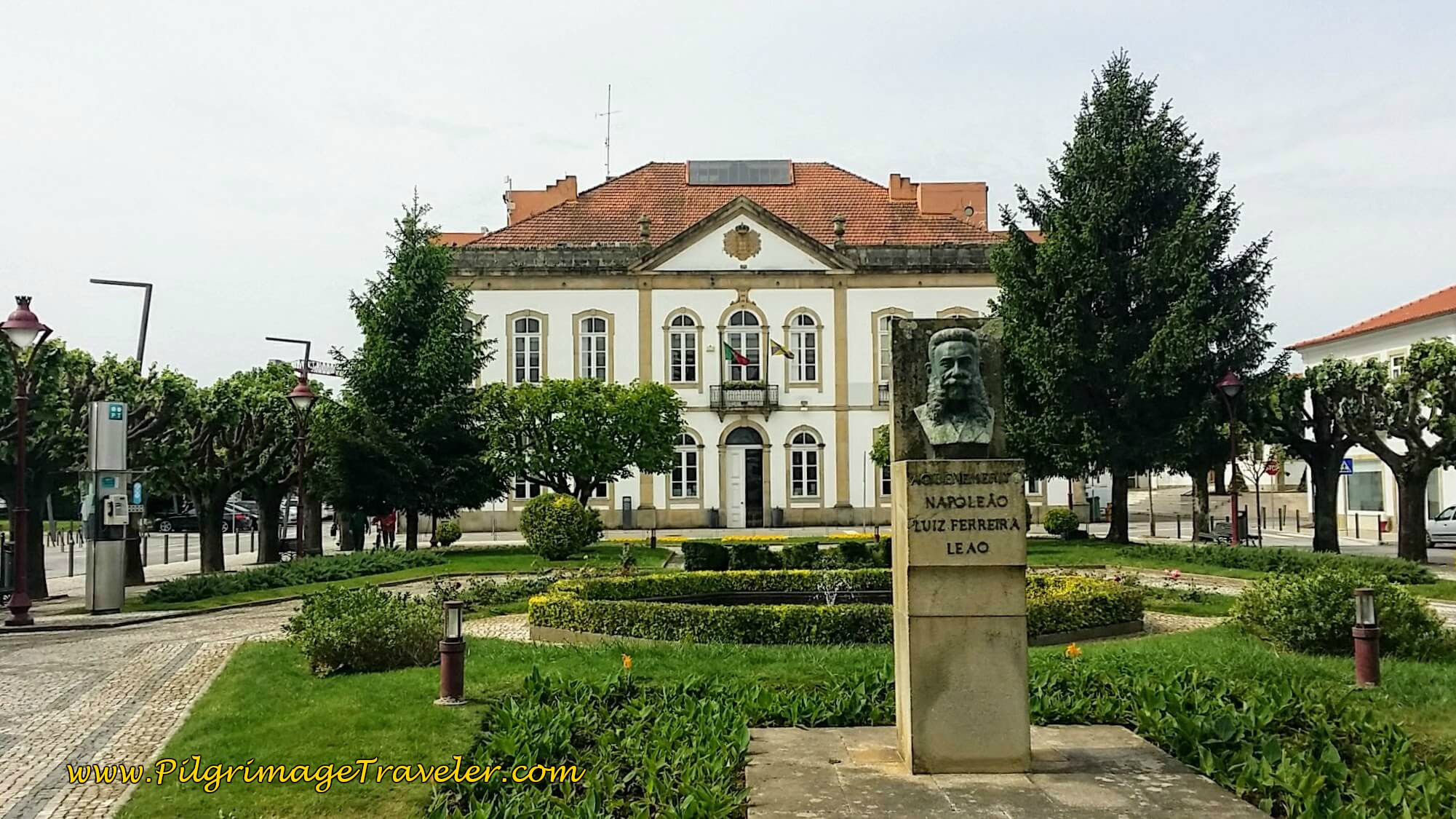 Local Government Office in the Town Square ~ Albergaria-a-Velha on day twelve of the Portuguese Way