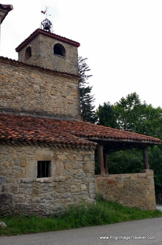 Iglesia de Santa, Eulalia, XII Century, Primitive Way, Asturias, Spain