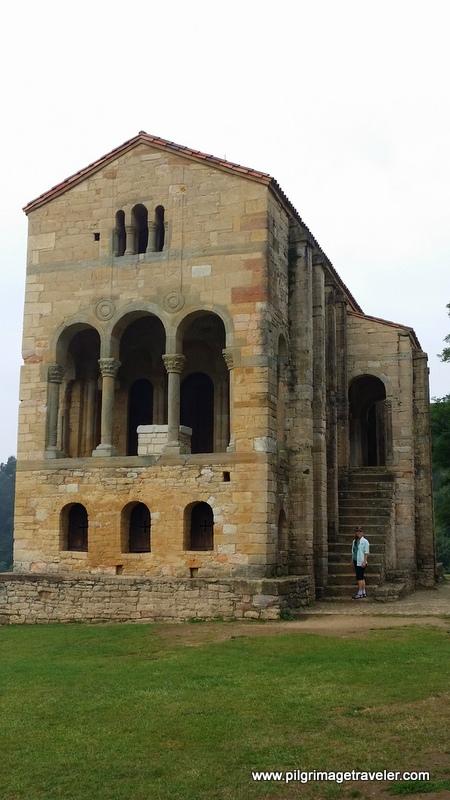 Rear View of the Santa María del Naranco Church, Oviedo, Spain
