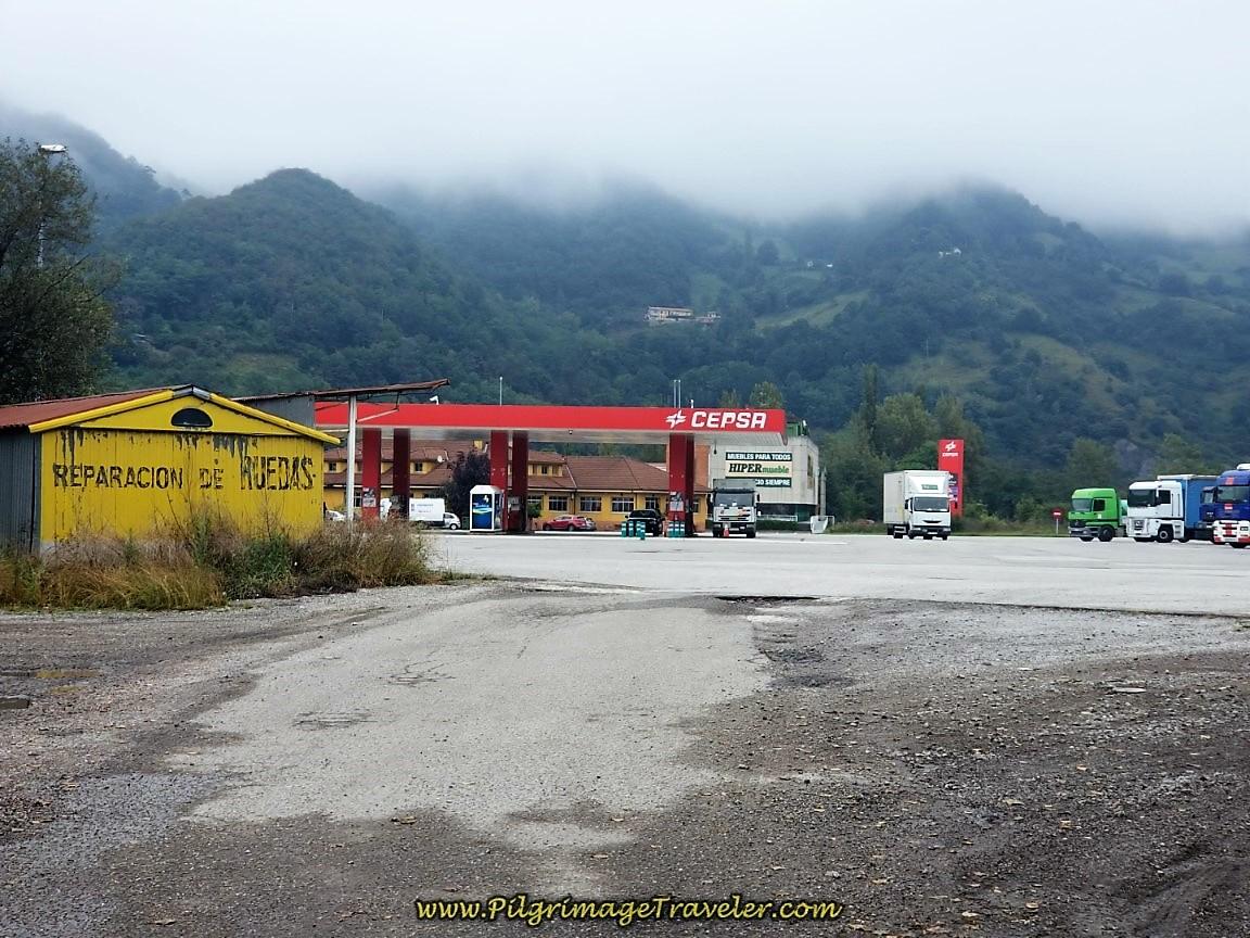 Cepsa Truck Stop