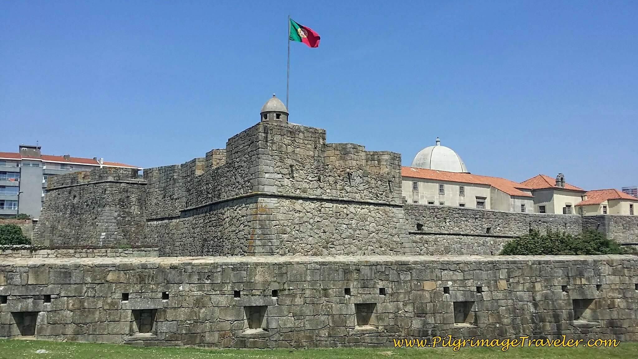 Fortaleza de São João da Foz in Porto, Portugal