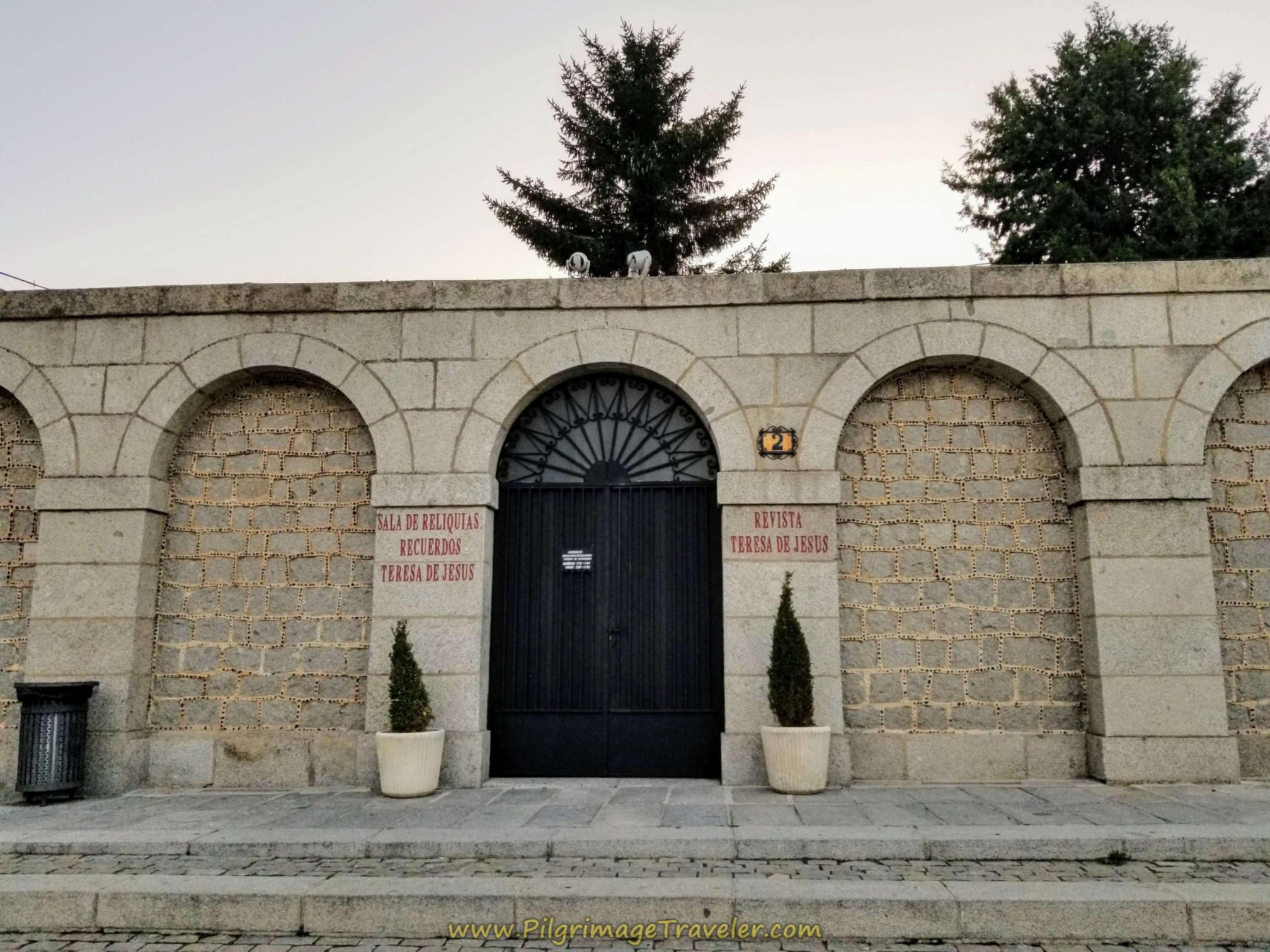 Room of Relics of Santa Teresa