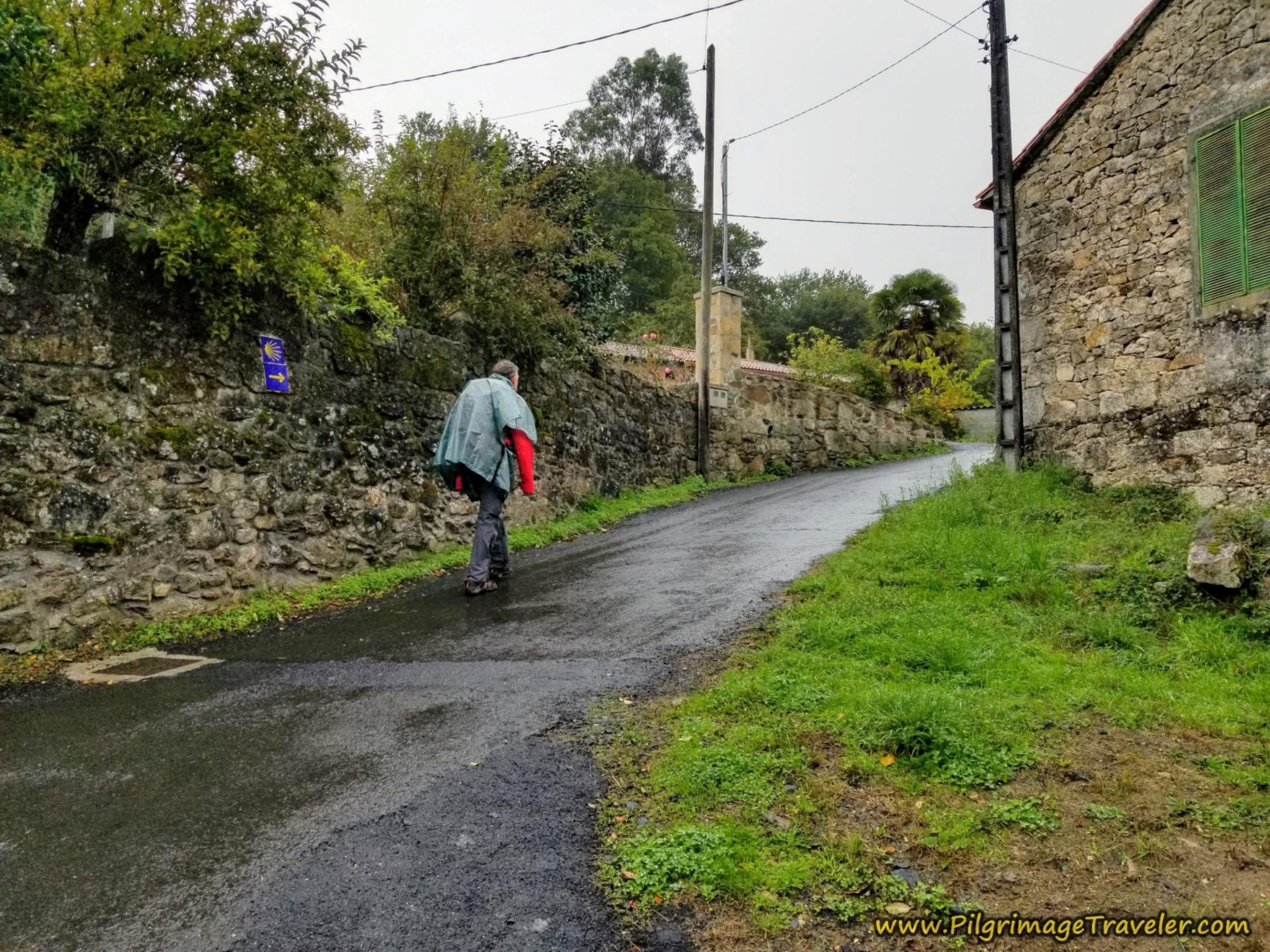 Uphill Into Taboada