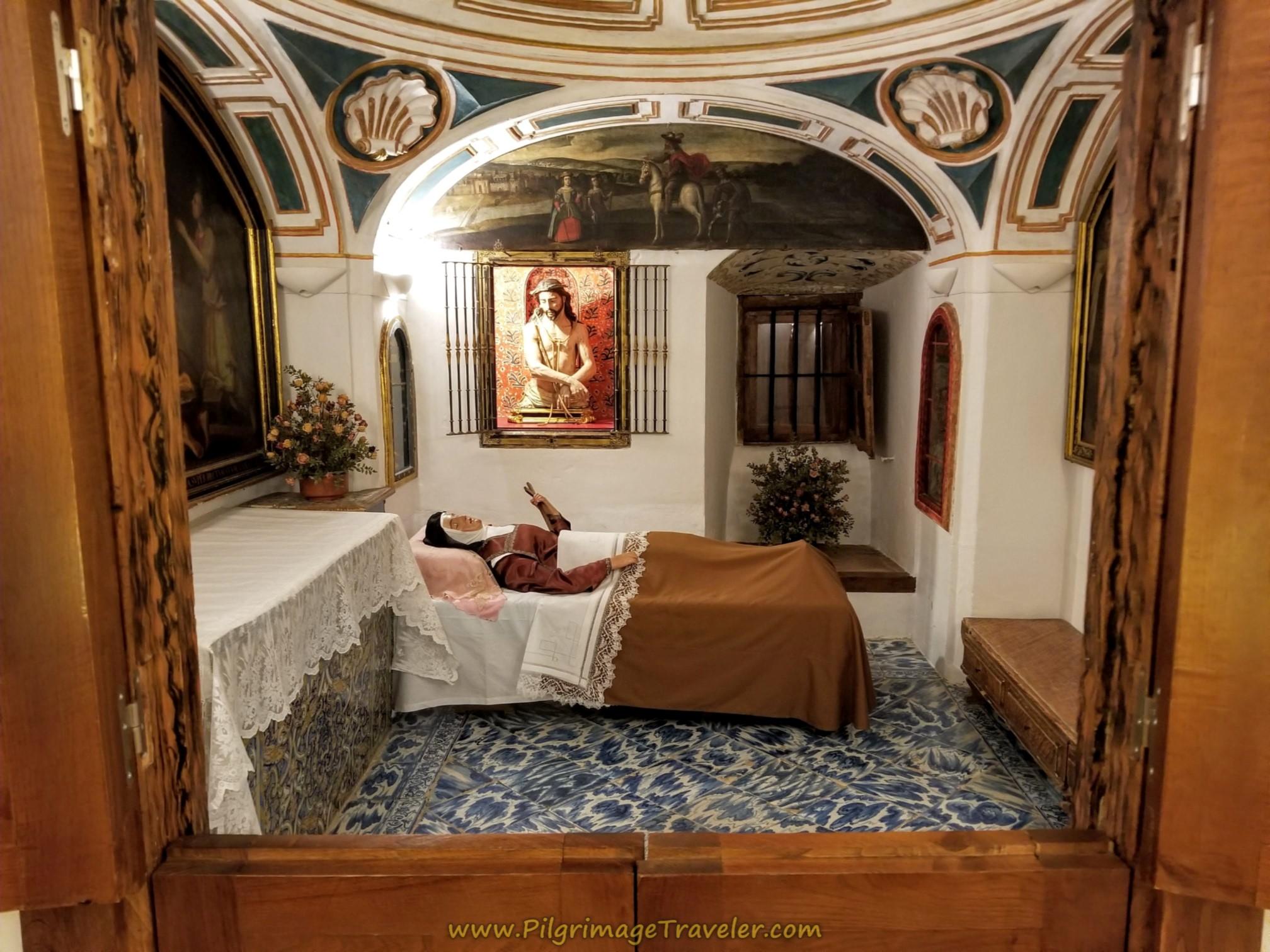 St. Teresa's Death Cell Reproduction, Iglesia de Anunciación, Alba de Tormes