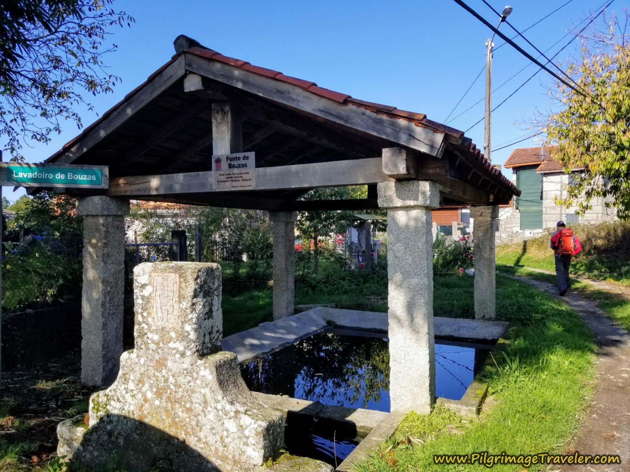 Fonte de Bouzas, Camino Sanabrés, Ourense to Cea