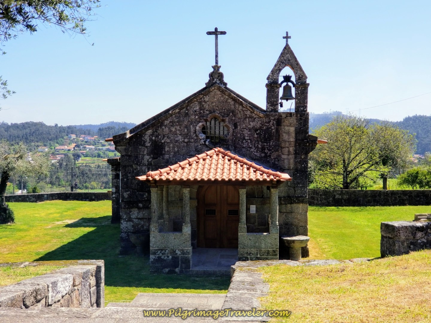 Igreja de São Martinho de Balugães on day seventeen on the Central Route of the Portuguese Camino