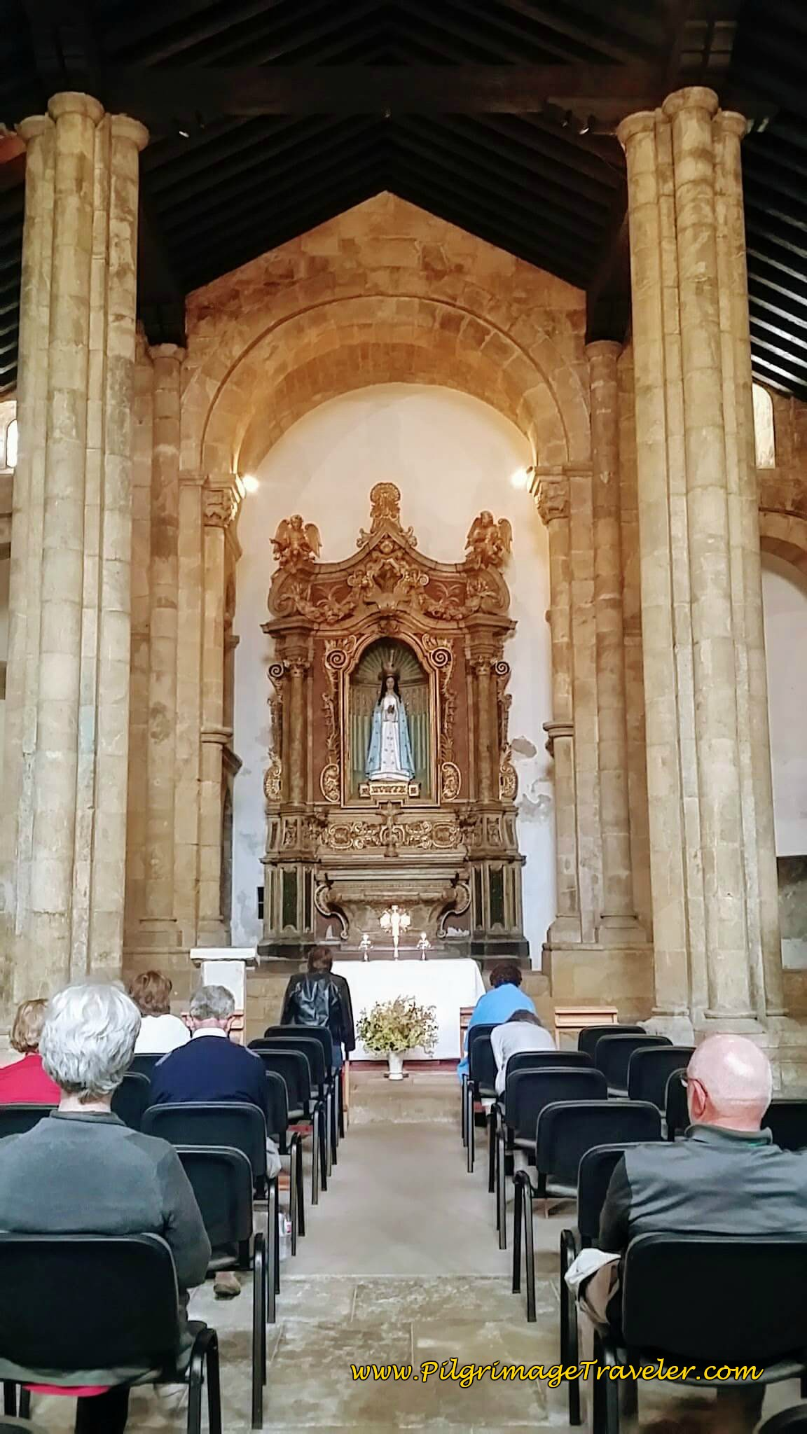Interior of Igreja de São Tiago, Coimbra, Portugal