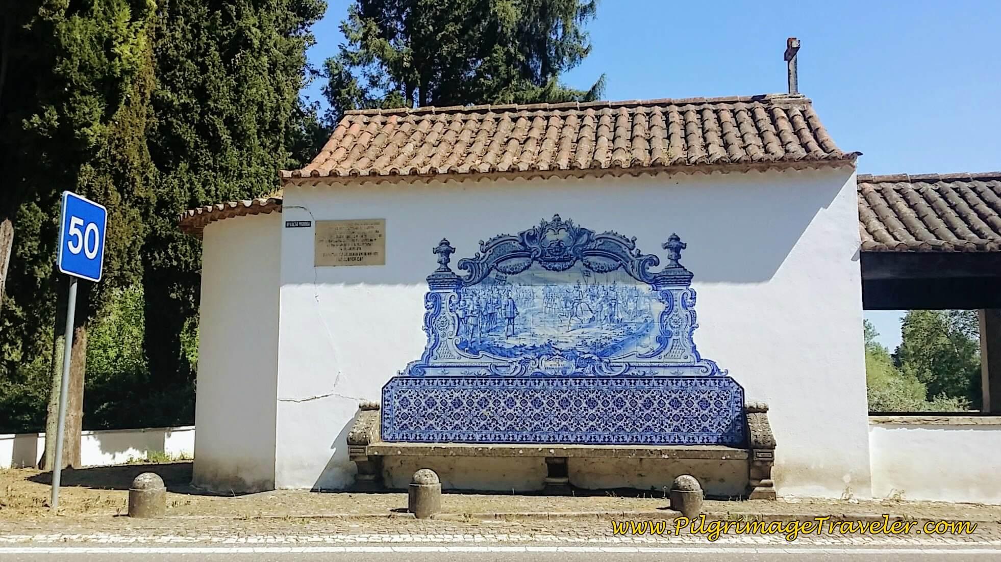 Chapel of São Lourenço Azulejo Mural