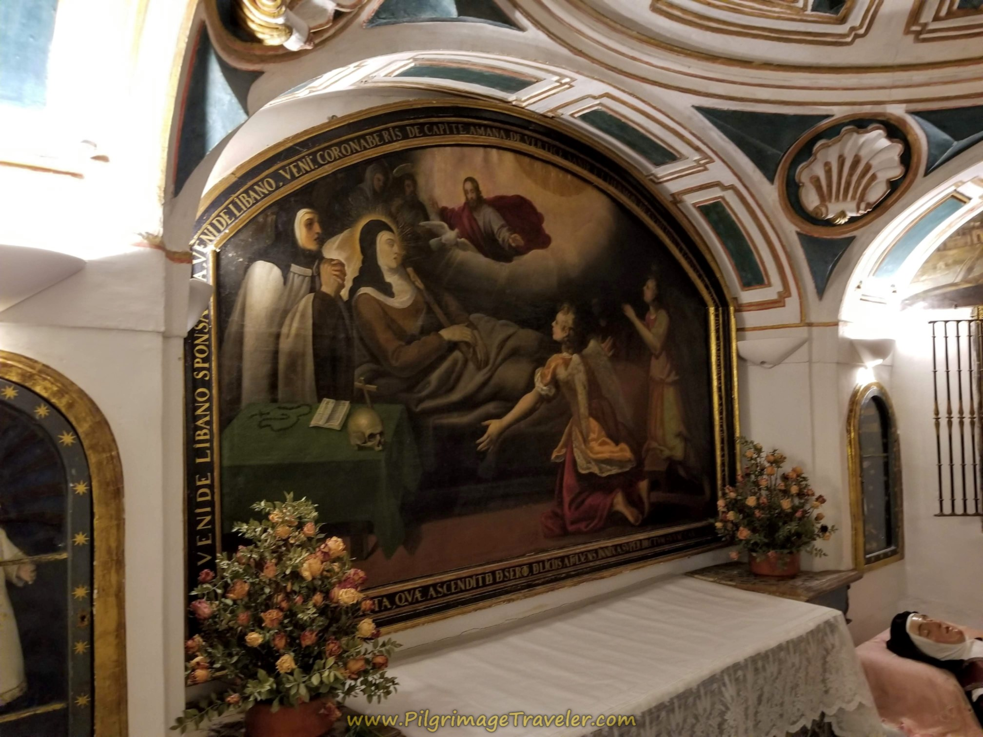 Painting of St. Teresa's Death