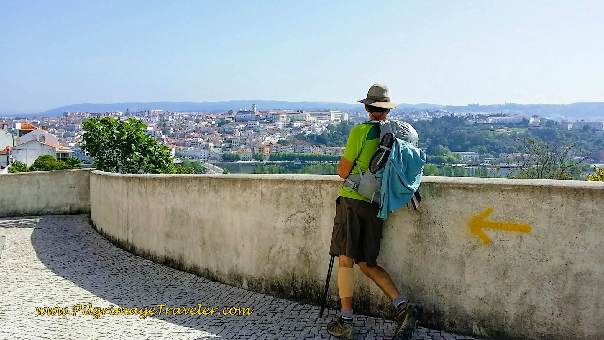 Wow! Rich at the Observatorio Overlooking Coimbra