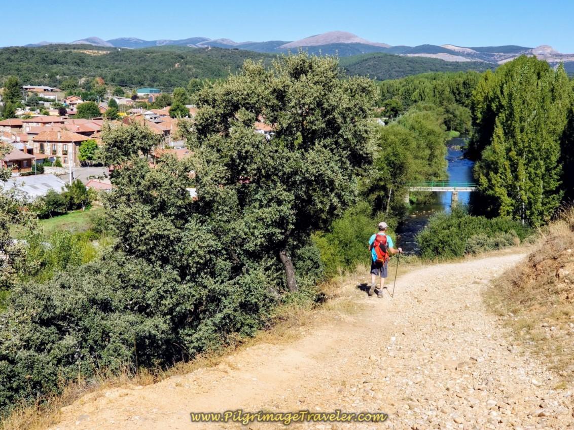 Road to La Seca de Alba