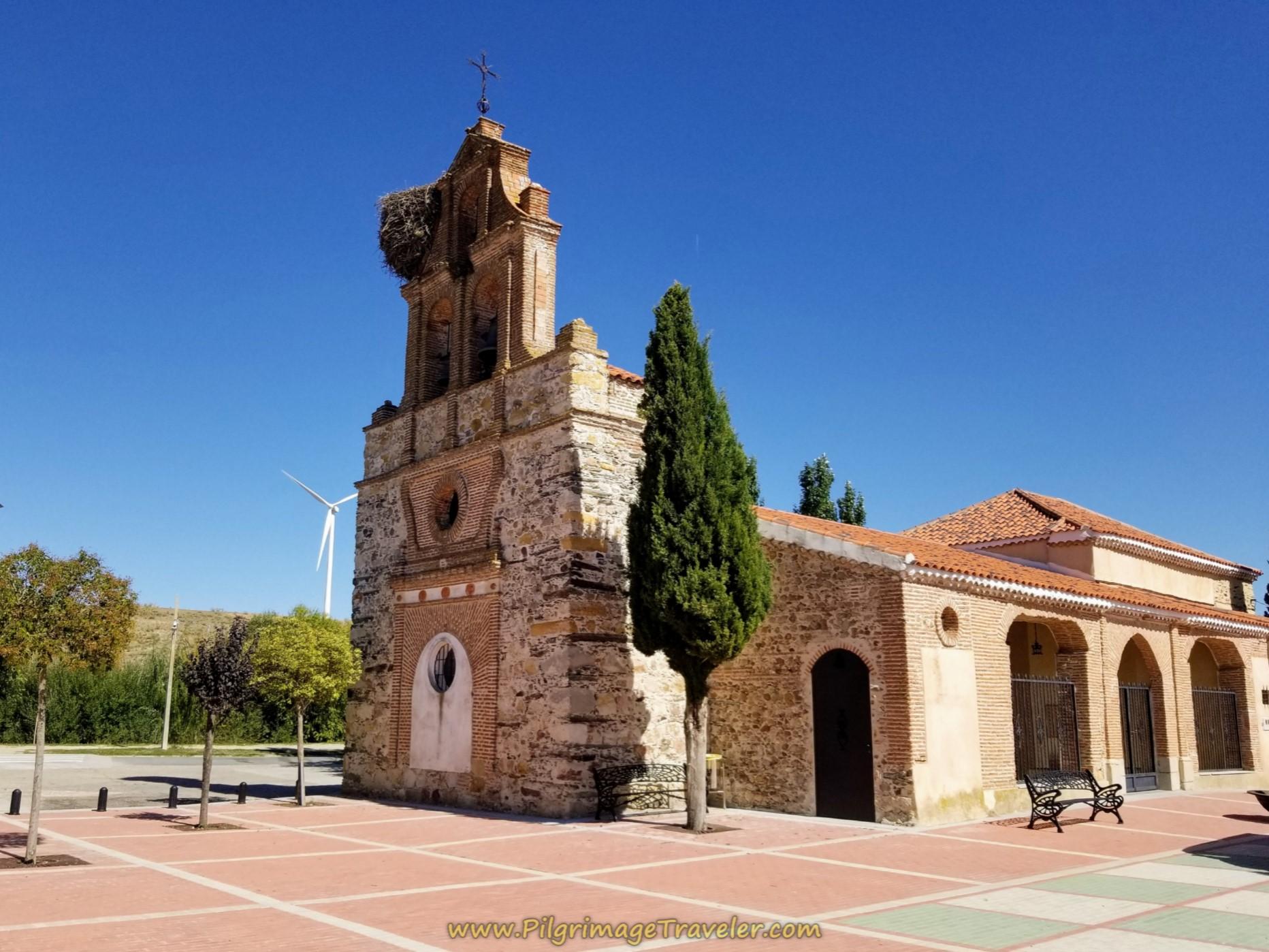 Iglesia Parroquial de San Juan Bautista on day five, Camino Teresiano