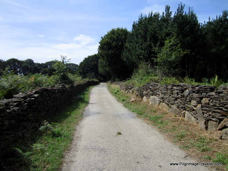 More Interesting, Rural, Wall-lined Roads, Galicia, Spain