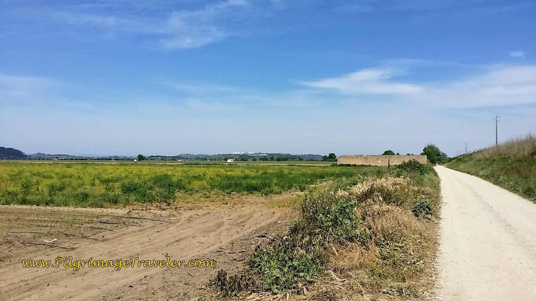 First Glimpse of Santarém, Far Ahead on the Hill