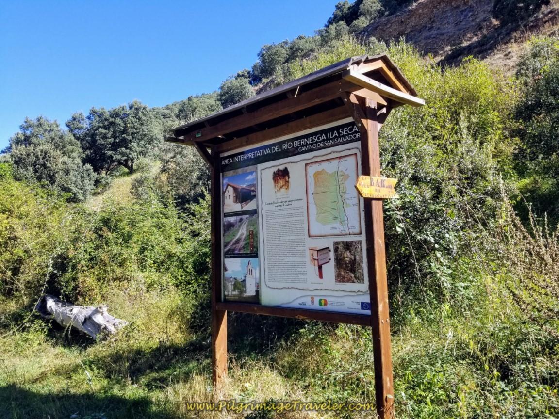 Information Board in La Seca