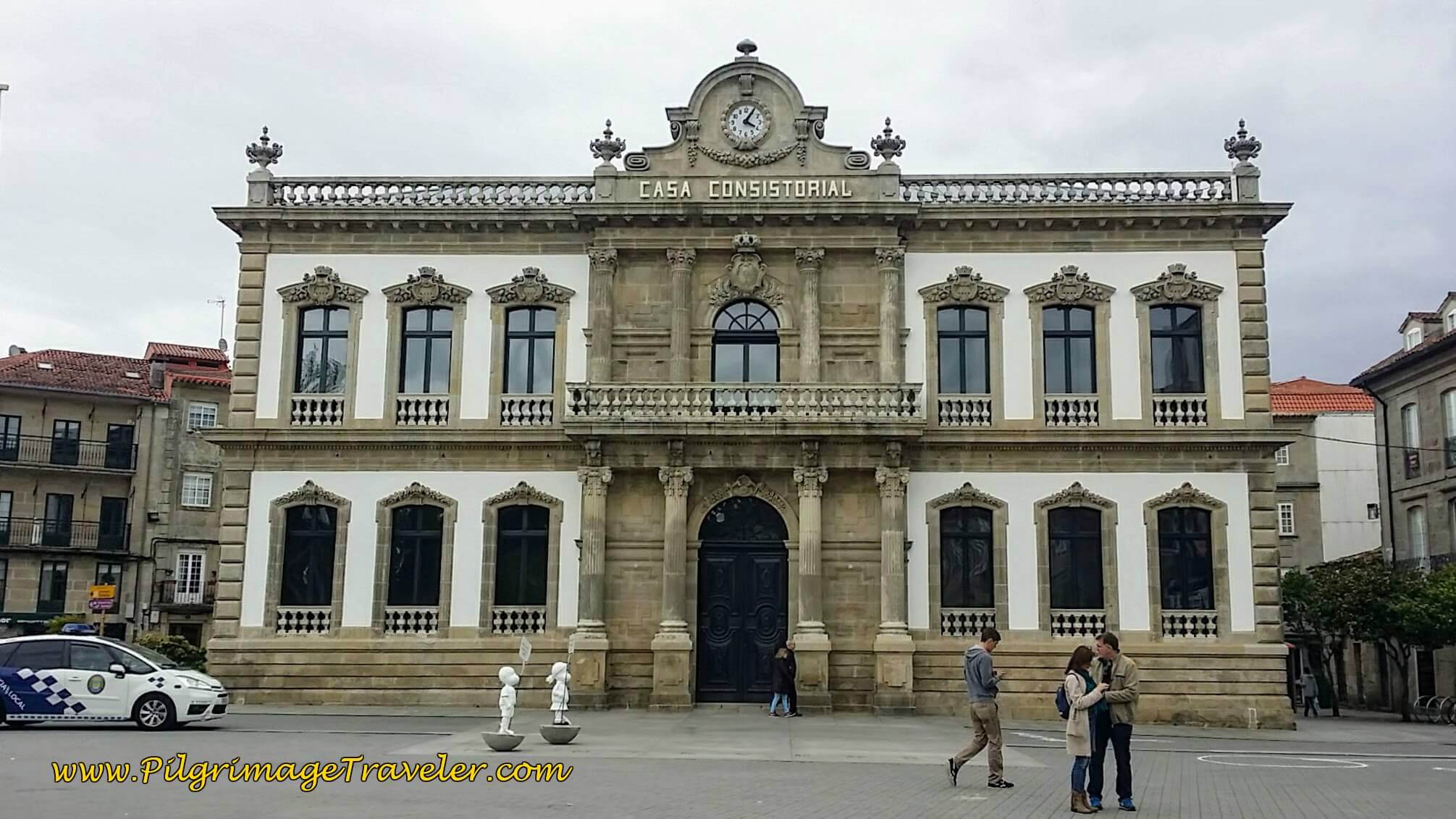 Casa Consistorial, the town hall of Pontevedra, day twenty-two on the Camino Portugués
